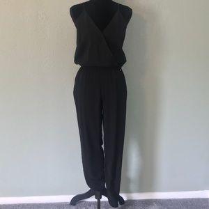GUESS - Black halter top jumpsuit